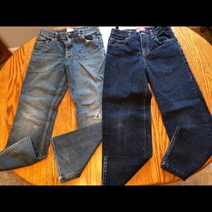 Boys jeans size 12 old navy 2 pair